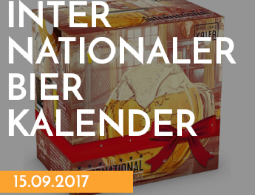 NEU: Der internationale Bierkalender