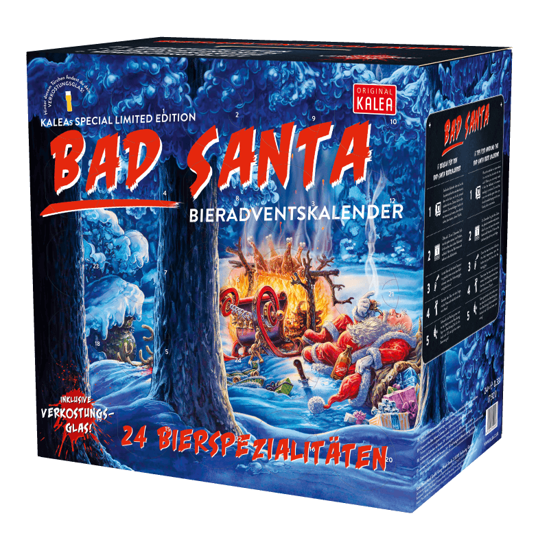 Adventkalender Edition Bad Santa