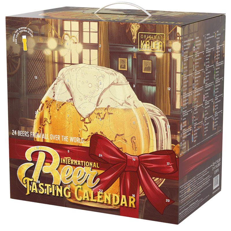 Internationaler Bier-Adventskalender
