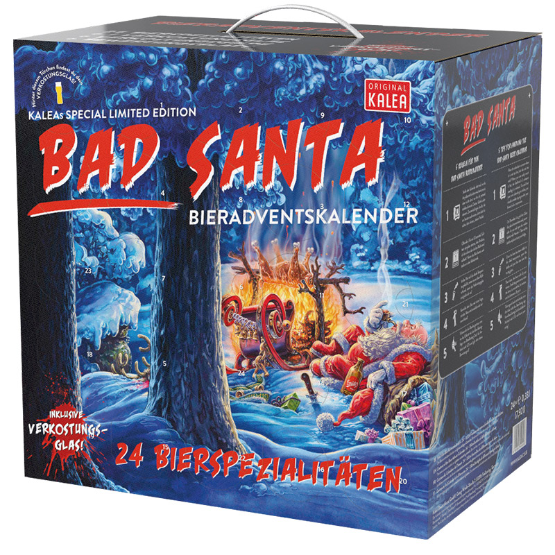 Bier-Adventskalender Edition Bad Santa